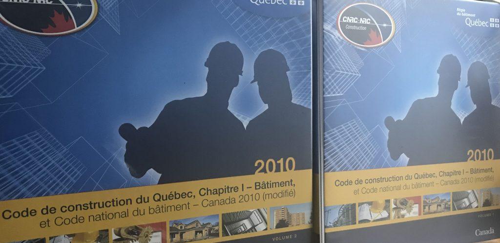 Code de construction du Québec, 2 volumes, edition 2010-BEBEXPERTS